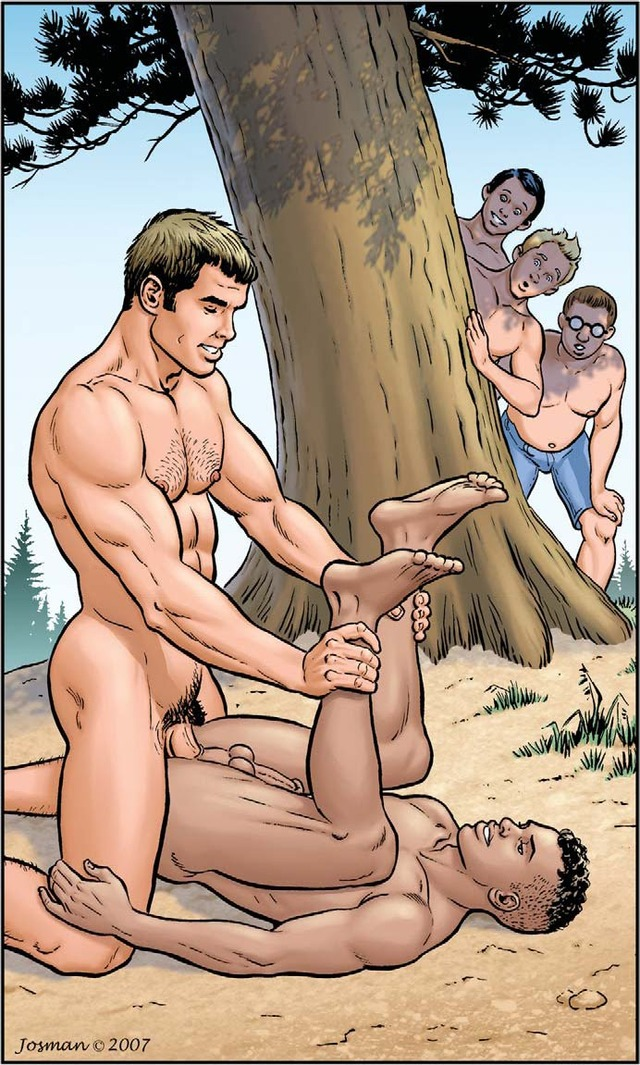 gay porn comics magazine gay comics tales loads dad bedtime volume josman handjobs ianhanks