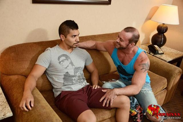 gay porn daddy Picture hairy muscle porn cock gets gay fucked williams young amateur latino daddy husband spencer casey