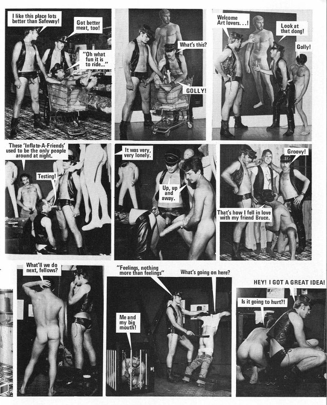 gay porn Pics vintage gay vintage hardcore novel comic graphic deardiary