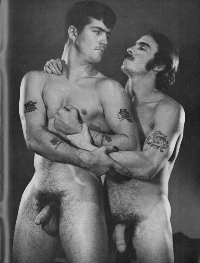 Gay Vintage Porn Pic Men Nude American Hot Cut
