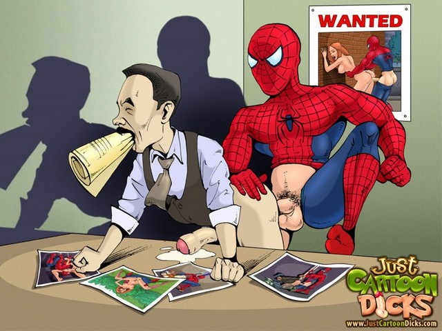 hot gay cartoon porn pictures gay toons spiderman