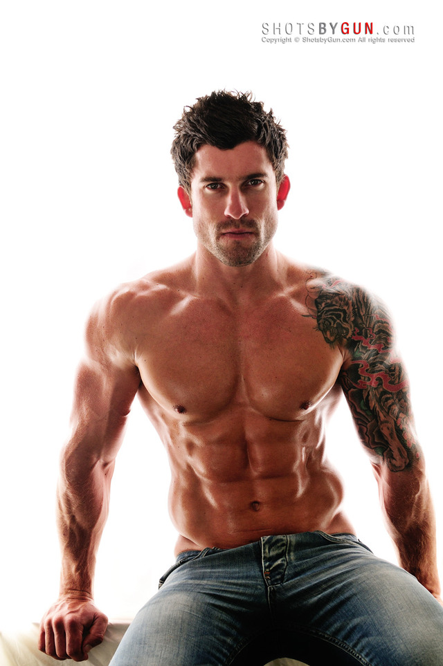 hot muscled hunk muscle ripped photos guys hot hunks sexy body set random