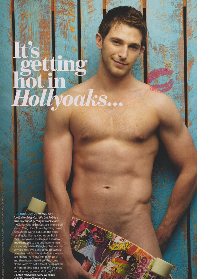hunks naked men gets naked more cosmo robnorbury