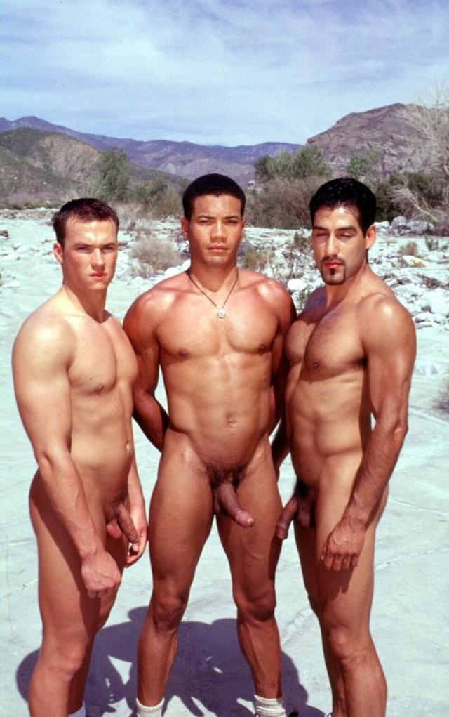 interracial gay pic off hard gay show their muscled muscles screen interracial