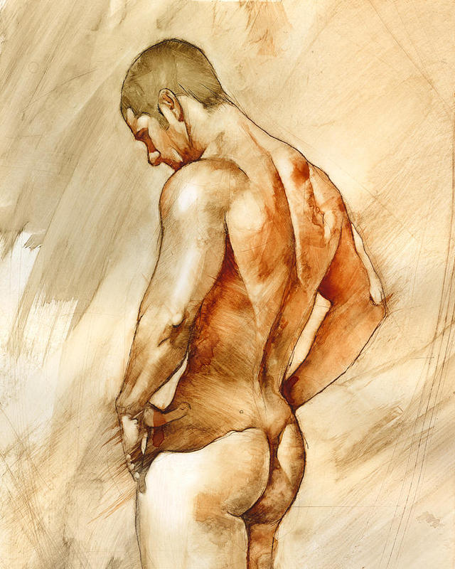 male pictures nude chris all male nude large art lopez medium paintings