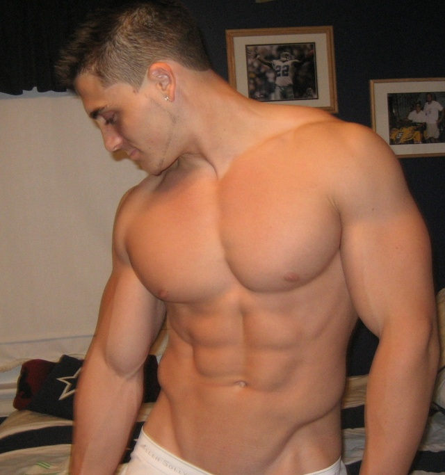 man muscle hunk