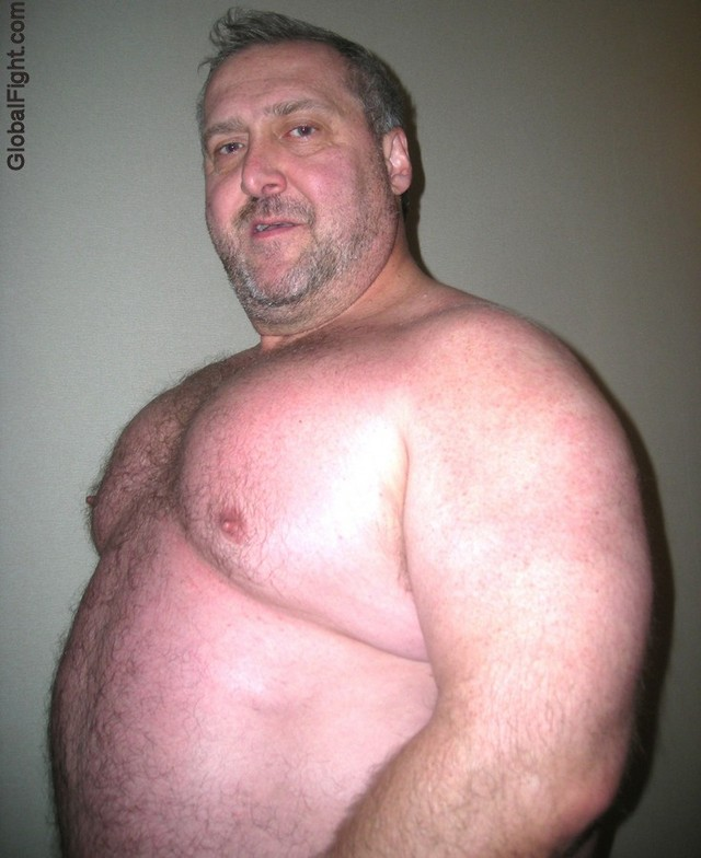 Barrel Chested Daddy Bear Mature Hairy Big Man