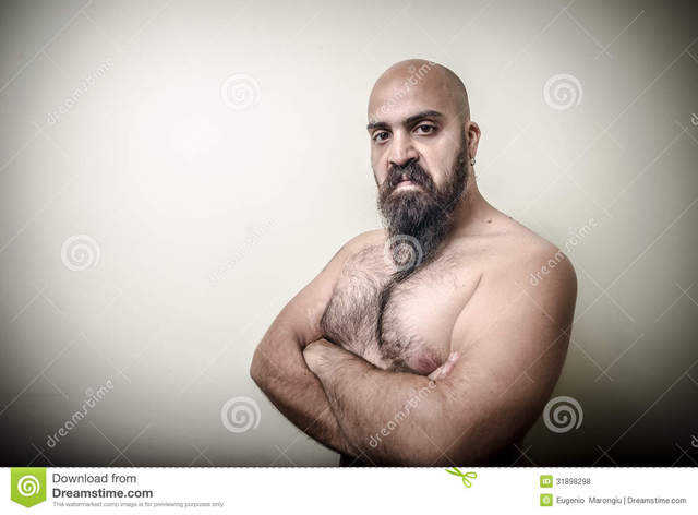 naked men with muscles muscle power photos man free super angry bearded stock gray background royalty