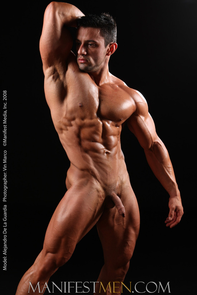 naked muscle muscle naked model lover armpit alejandro guardia
