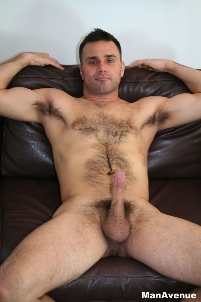 Hung Hairy Muscle Men Nude