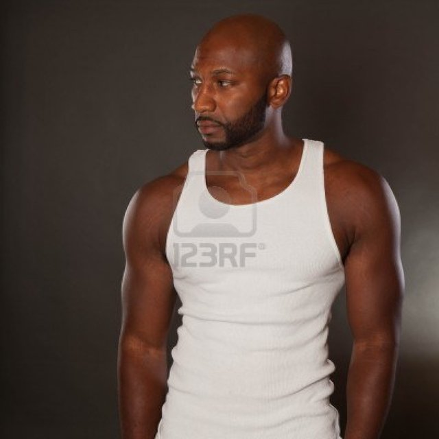 nude muscular black men black muscular photo young man handsome shirt stock kmlphoto