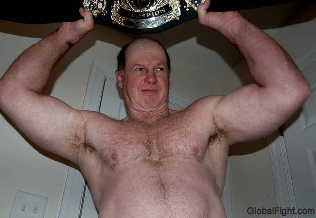 nude porn men man beefy wrestling champion