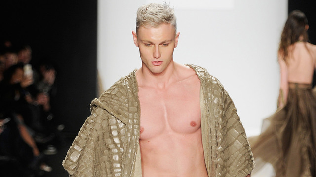 pics of naked male models naked news photo media model male project down nyfw runway sends alum