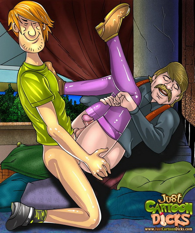 porn gay cartoon from gets destroyed gay dicks cartoon ass series shaggy doo scooby