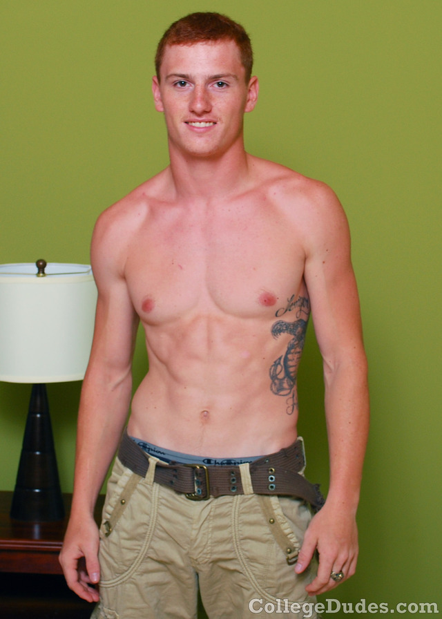 redhead gay porn Pics off his busts nut collegedudes college shows ass straight guy sexy redhead jacking jacks palmer dilis