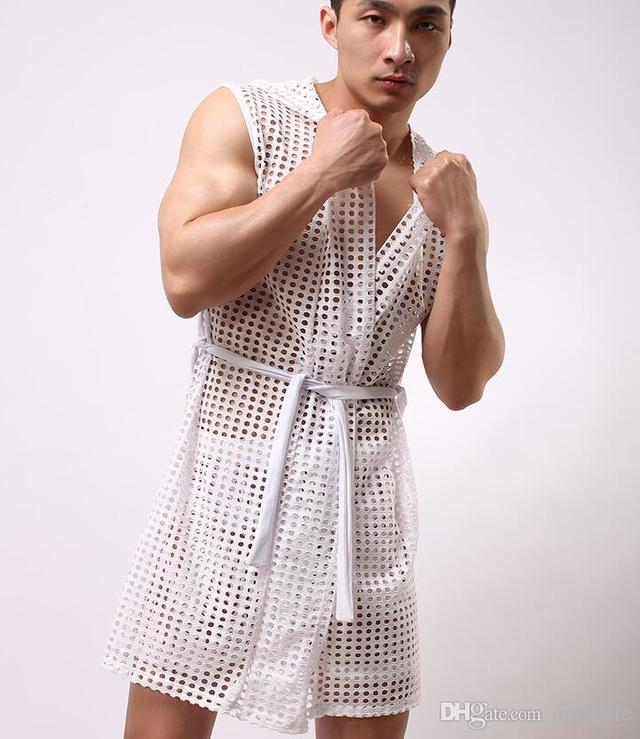 sexy and gay mens sexy product albu rbvagfvfskcaxi vaapdpx pdy bathrobes nightclothes sleeveless