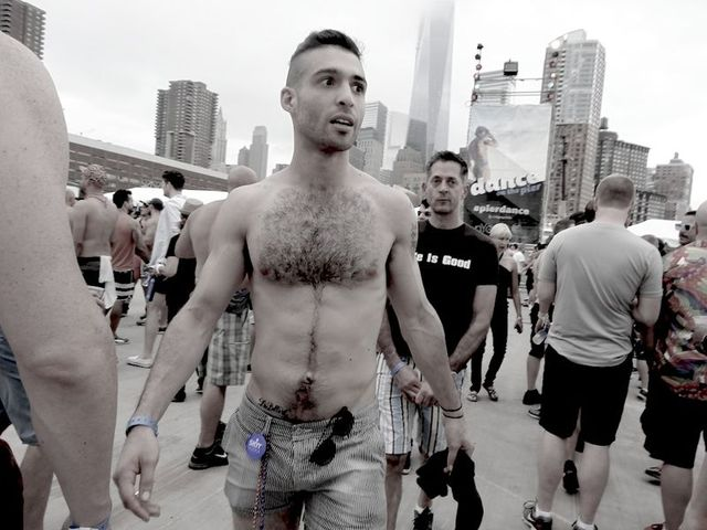 sexy man gays from men gay this sexy pride dance years nyc tons pier