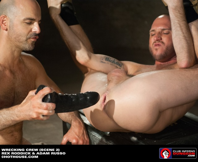 toys gay porn huge ass penetration mens scene dildo dungeon