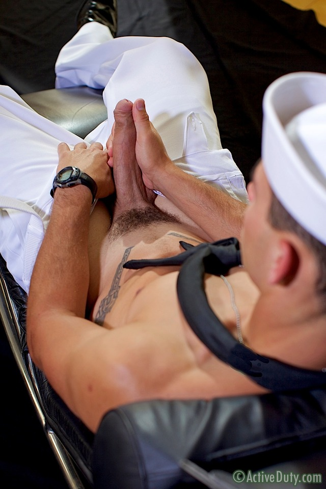 uncut dick gay porn porn cock his gay activeduty jerking amateur uncut masturbation sailor bric