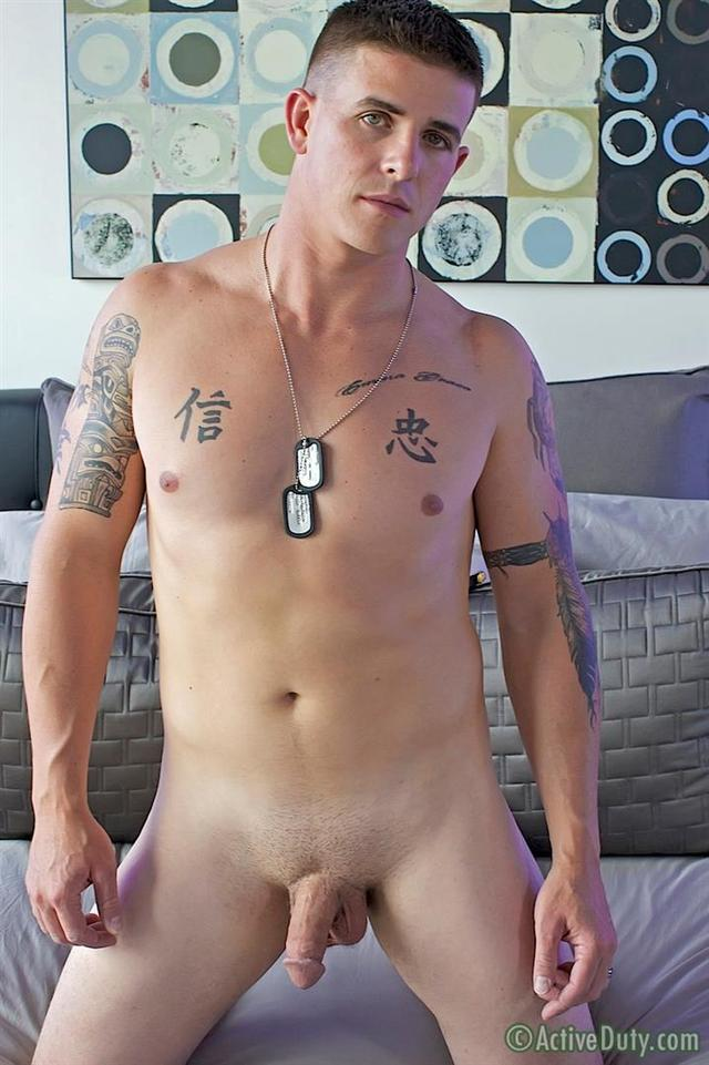 us gays porn porn cock his gay activeduty jerking amateur straight marine cum hung brian