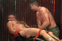 Fetish Gay Porn jimmy fanz tristan phoenix fetish force tickling bondage gay porn tickled fucked