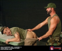 Fetish Gay Porn dungeon hole busters gay soldier dildo fuck