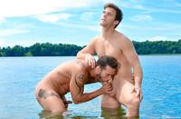 Amateur Gay Porn men montreal gabriel clark alexy tyler muscle studs fucking amateur gay porn cock along river banks