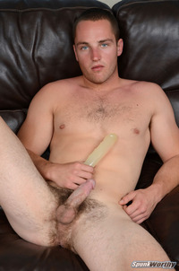 Amateur Gay Porn spunkworthy dean straight marine uses dildo hairy ass amateur gay porn ripped fucks his striaght