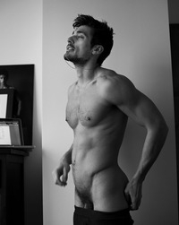 full frontal Male Porn david gandy nude penis frontal