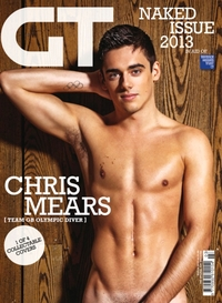 Gay actors Nude stories bloggers chris mears cover team covering gay times annual nude issue