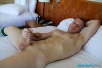 Gay Amateur Porn bentley race saxon west thick cock jerking off amateur gay porn red headed muscle boy jerks his