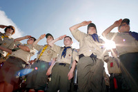 Gay Boys Pics boy scouts ends ban openly gay boys partner