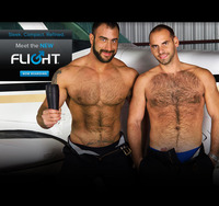 Gay men with toys pageshow launches flight