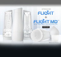 Gay men with toys pageshow launches flightmd launch