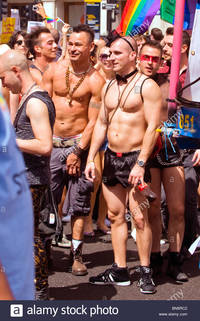 Gay young boys pictures comp london gay pride parade muscular young boys men bow tie lads bare stock photo
