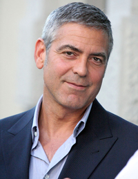 George Clooney Gay Nude clooney george out about italy without elisabetta canalis