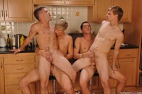 Group Gay sex next door twink adam wirthmore alex waters noah brooks jay kohl gay porn kitchen fucking sucking group foursome smooth blowjob blond slutty xxx hardcore action have ever had