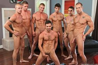 Group Gay sex hot sexy studs suds group gay