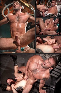 Hairy Gay Porn cock shot jake genesis roderick tristan mathews shawn wolfe hairy gay porn