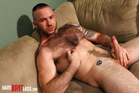 Hairy Gay Porn hard brit lads justin king young hairy muscle bear uncut cock amateur gay porn british lad jerks his