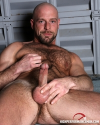 Hairy Gay Porn hairy muscle body dirk willis strokes huge cock high performance men photo category