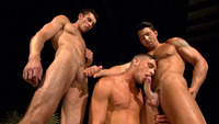 Hunks Gay Pics muscle hunks jimmy durano jayden grey adrian long suck dick fuck gay threeway blind spot from titan men pic
