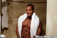 Hunks Gay Porn black bodybuilder augusto elia muscle hunk