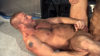 Hunter Marx Porn hairy hung muscle studs hunter marx stany falcone suck cock flip flop fuck reckless from titan men pic