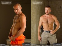 Hunter Marx Porn inmates forte marx joe gages from titan men
