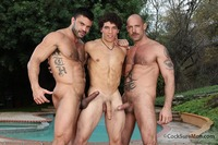 Jake Deckard Porn muscle hunk gay threeway fuck fest jake deckard rogan richards austin merrick cock sure men pic