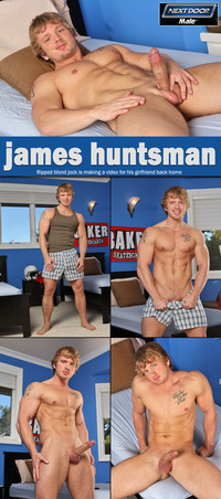 James Huntsman Porn collages nextdoormale james huntsman hot gay ripped blond jock