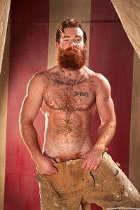 James Jamesson Porn james jamesson red hair ginger gay porn star beard cock doodle
