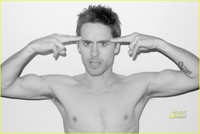 Jared Leto Gay Nude jared leto terry richardson shirtless shots