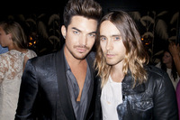 Jared Leto Gay Nude jared leto adam lambert tweets about video music